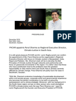 PVCHR Appoints Parul Sharma Regional Executive Director