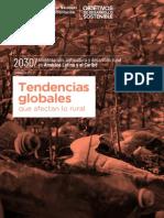 Tendencias globales que afectan lo rural