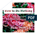 [2019] How to Do Nothing by Jenny Odell | Resisting the Attention Economy | HighBridge, a division of Recorded Books