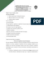 Tema 1 Introducción Al Estudio de La Lengua