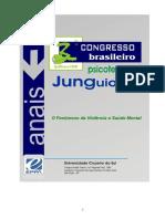 Anais do Terceiro Congresso Brasileiro de Psicoterapia Junguiana