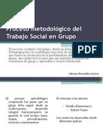 el trabajo social de grupo