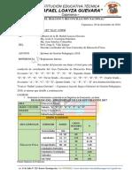 Informe Tecnico-pedagogico 2018- Educación Física