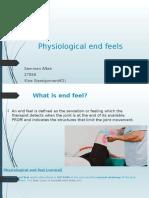 Physiological end Feels