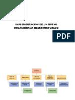 IMPLEMENTACION DE UN NUEVO ORGANIGRAMA REESTRUCTURADO.docx