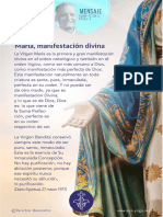 P. Dávila (María, Manifestación Divina)