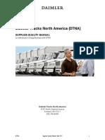 Daimler Supplier Quality Manual Sqm, Mar 2017