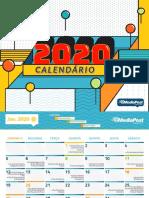 Calendário-2020