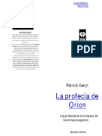 La Profecía de Orion - Patrick Geryl1
