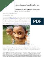 Antonio Risério a Mestiçagem Brasileira Foi Um Processo Popular ESTADÃO