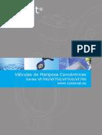 Valvulas de Mariposa Concentricas-Vf700 Vf750 Vf7u0 Vf790-Uniwat-ficha Tecnica-sp-ds02