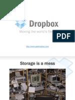 Dropbox pitch