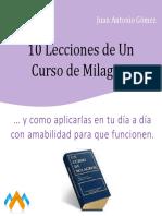 10 lecciones de un curso de milagros