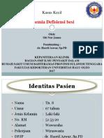 KasKel-Anemia Defisiensi Besi