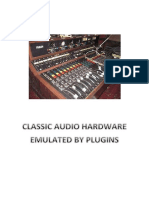 Classic Audio Hardware Emulated by Native Vst-rtas Plugins