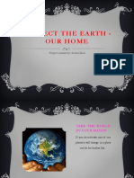 Protect the Earth - Our Home