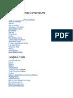 Jewish Online Resources List