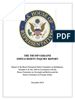 House Intelligence Committee Democrats release impeachment inquiry report