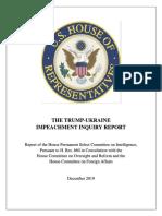 20191203 - Full Report Hpsci Impeachment Inquiry - 20191203