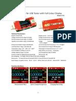 UT25 USB Tester Instruction