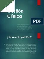 Seminario 10 Gestion Clinica