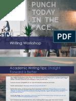 Material Rhe t Writing Workshop