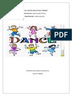 Projeto Mostra de Dança Escola Paulo Freire