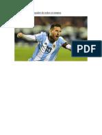 Messi é o Melhor Jogador de Todos Os Tempos