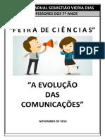 PROJETO FEIRA DE CIÊNCIAS