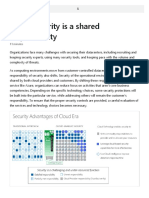 Cloud security is a shared responsibility - Learn | Microsoft Docs