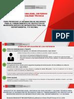 d. Sistema Criterios de Admisibilidad y Spp