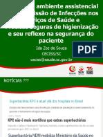 Praticas Seguras de Higienizacao e Seu Reflexo Na Seguranca Do Paciente Ida Zoz de Souza