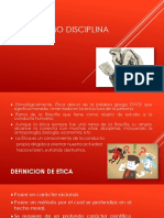 Etica Como Disciplina Cientifica