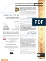 3.5E D&D - Adventure 09 - Tower in the Ice