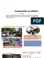 Qué Está Pasando en Chile