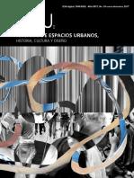 Anuario de Espacios Urbanos, Historia, Cultura y Diseño