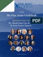 Fine Artist Guidebook 2019 v1.0