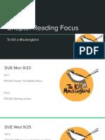 Reading Focus