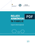 Suport Informational Relatii Armonioase in Familie