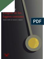 (Leon Bloy) - Exegesis de los lugares comunes.pdf