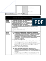 oct 9 lesson plan