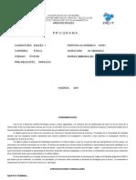 Programa Ingles I - 0166- 2001
