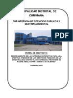 Proyecto Servicios Municipales