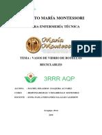 Proyecto de Vasos de Vidrio MONTESORI PROYECTO Terminado Corregido