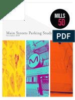 Mills 50 Parking Report