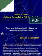 Estado, Sociedad y Política Social