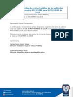 CV Precios Sugeridos Al Público Auteco Mobility Noviembre2019 Auteco Mobility