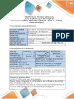 Guía de actividades Macroeconomia