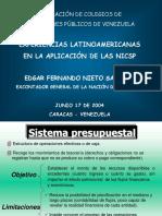 Experiencia Latinoamericana en la aplicación de las Normas internacionales en el Secror Gobierno.pps