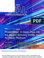 Dell EMC PowerMax a Deep Dive Into the Award-Winning NVMe Based All Flash Platform